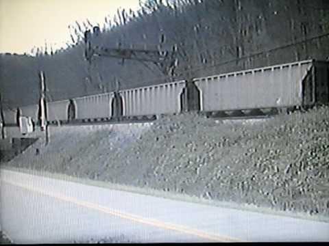 CSX Coal Trains at Barboursville, West Virginia