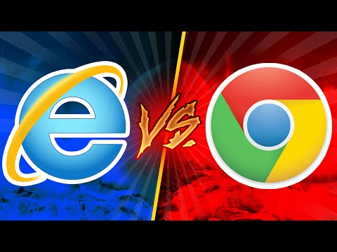 Chrome - Internet Explorer Kapışması
