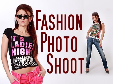 Fashion Fotoshooting Modefotografie Fotograf Ulm Youtube