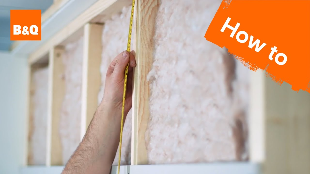 How To Insulate Plasterboard A Stud Wall