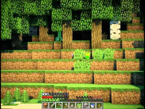 """Смотреть прохождение игры Minecraft - Затерянный остров. Серия 2: """"На вершине мира""""."""