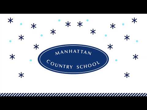 """Thank you!"" from Manhattan Country School"