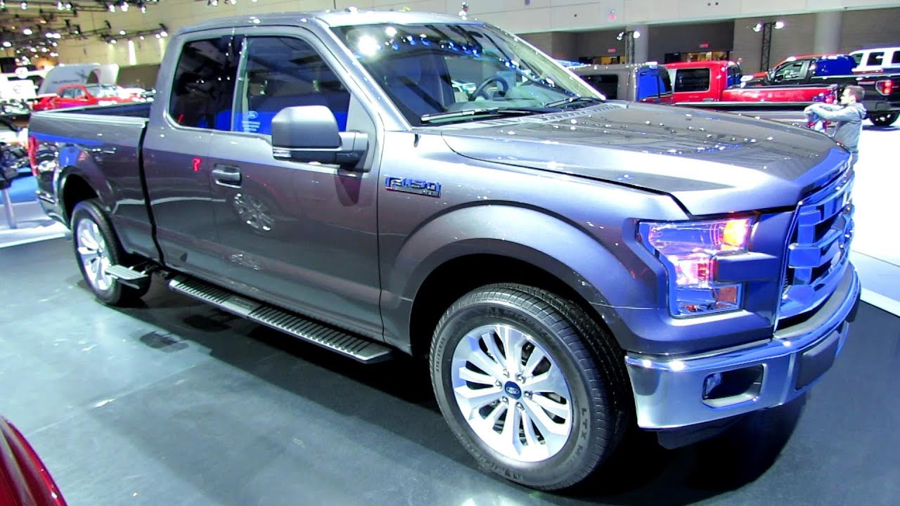 2015 Ford F150 XLT   Exterior And Interior Walkaround   2014 Toronto Auto  Show   YouTube
