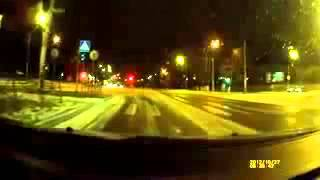 NEW scary car accident on icy highway in Russia!Peugeot 406 crash!ДТП