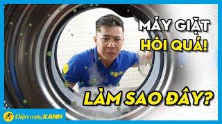 Nguyên nhân và cách khắc phục lồng máy giặt bị hôi • Điện máy XANH