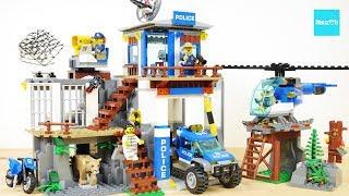 レゴ シティ 山のポリス司令基地 60174 / LEGO City Police Mountain Police Headquarters 60174
