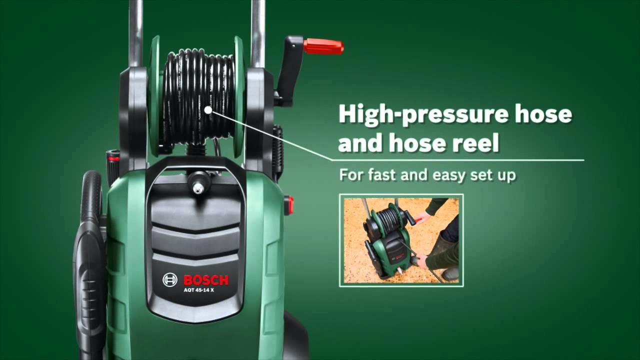 Bosch High Pressure Washer Aqt 40 13 Youtube