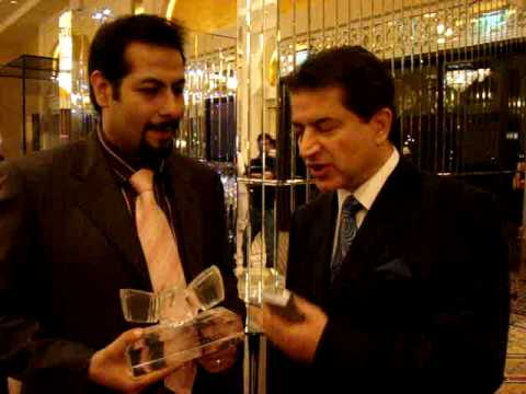 Omid Abtahi And Mr Shabkhiz ITN In Sheikh Mohammad's party