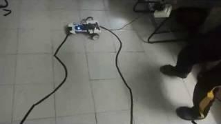 line follower robot using at89s52 from epriians a parthiban k prakash smit