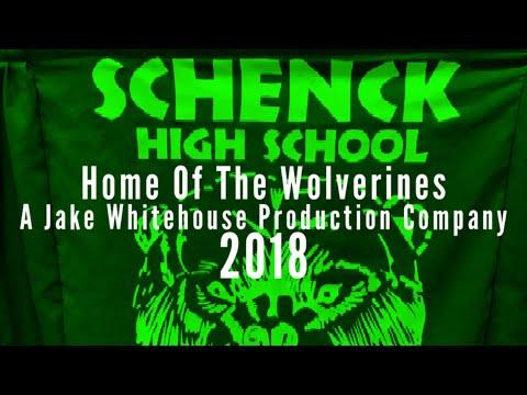 Schenck High School Home Of The Wolverines Logo 9