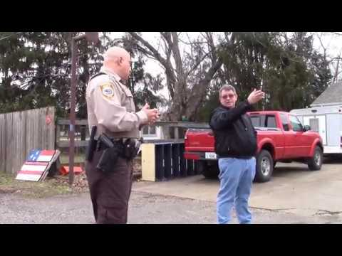 LANDLORD DETAINED By POLICE For Unlawfully RESTRAINING TENANT Intimidation HARASSMENT