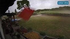 Mitten im Tornado - Unwetter in Polen (17.06.2019)
