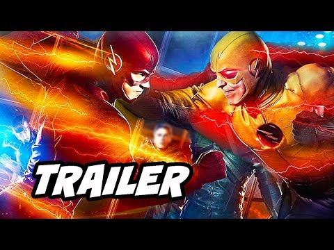 The Flash 5x04 Promo - Reverse Flash Scene and Crossover Teaser
