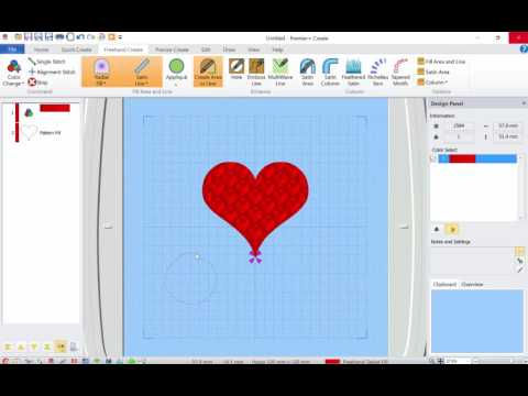 More CREATE module info with Premier Plus Embroidery Software - YouTube