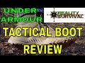 Under Armour Valsetz RTS Tactical & Hiking Boot Review