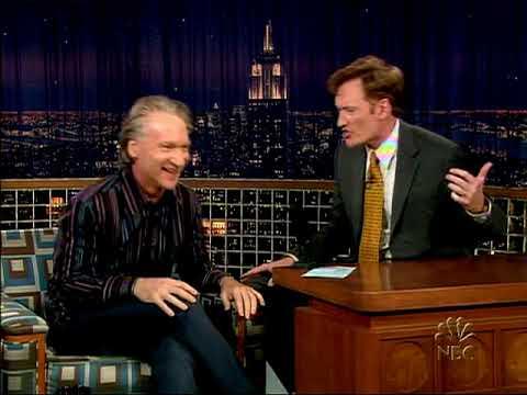 Conan O'Brien 'Bill Maher 9/8/04