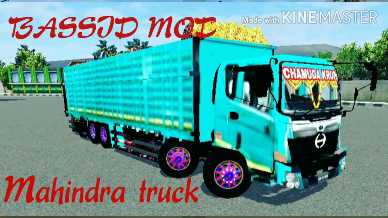 Mahindra Truck Mod Bassid And Livery In Bus Simulator Indonesia How To Download Games Youtube