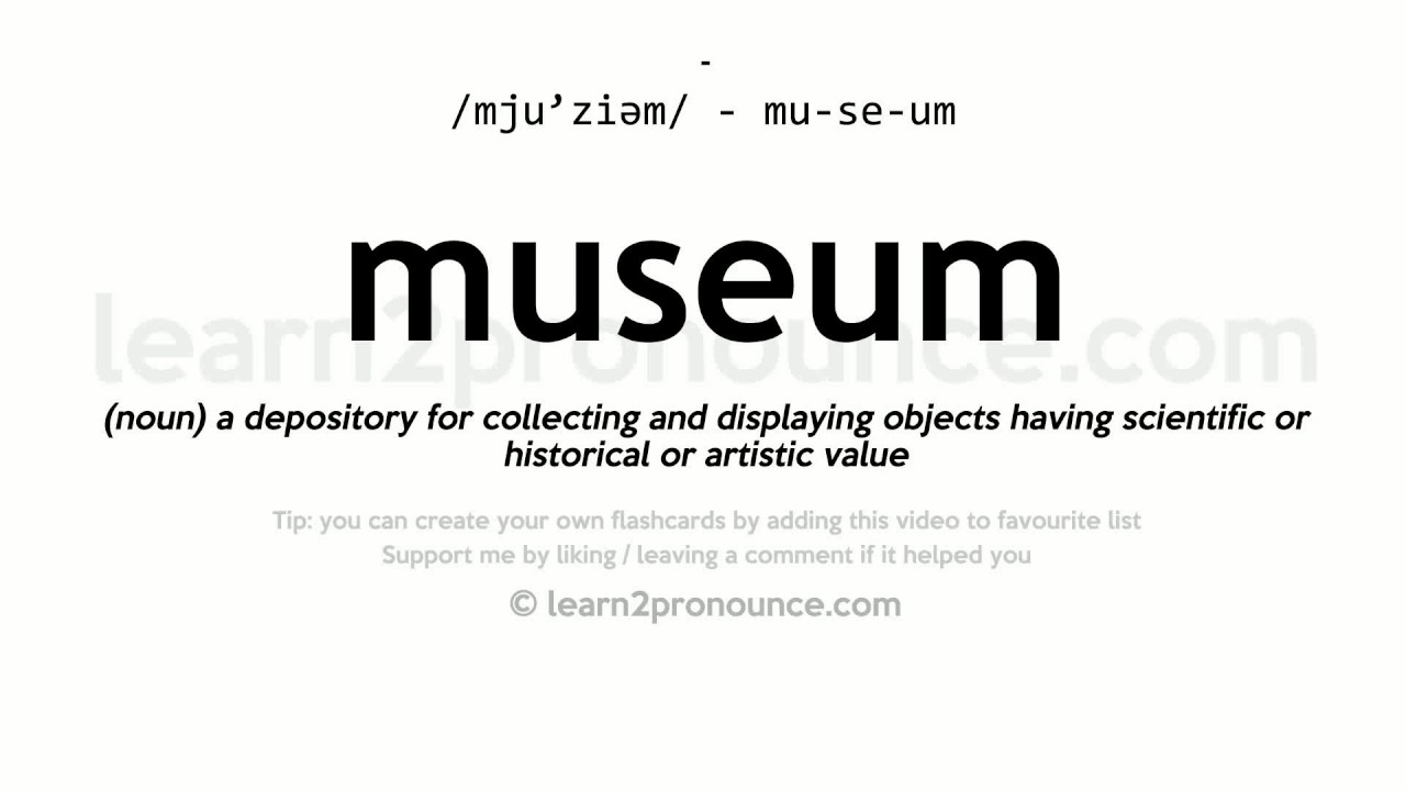 DEFINITION OF MUSEUM EBOOK