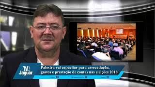 Palestra vai capacitar para arrecadação, gastos e prestação de contas nas eleiçoes 2018