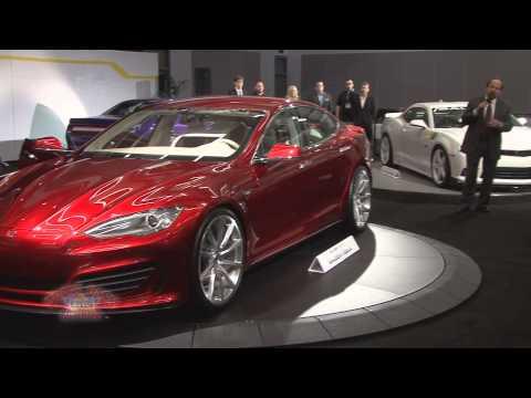 2014 LA Auto Show - Saleen Tesla Presentation