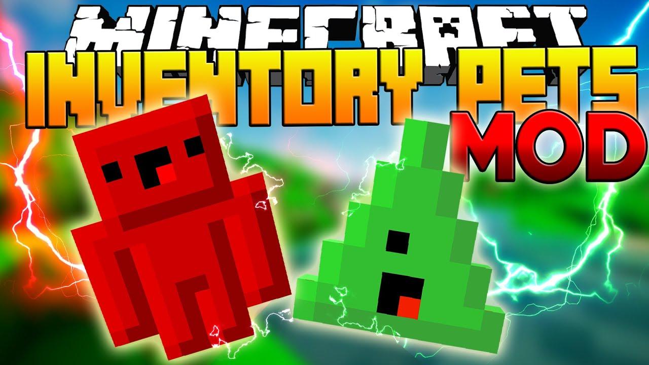 Minecraft   INVENTORY PETS MOD: New Pets! (True ...
