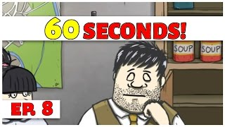 60 Seconds! - Ep. 8 - Tired Ted! - Let's Play [60 Seconds DLC Gameplay]