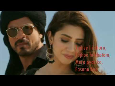 Thumbnail: Zaalima | Raees | VIDEO LYRICS | Shah Rukh Khan & Mahira Khan |