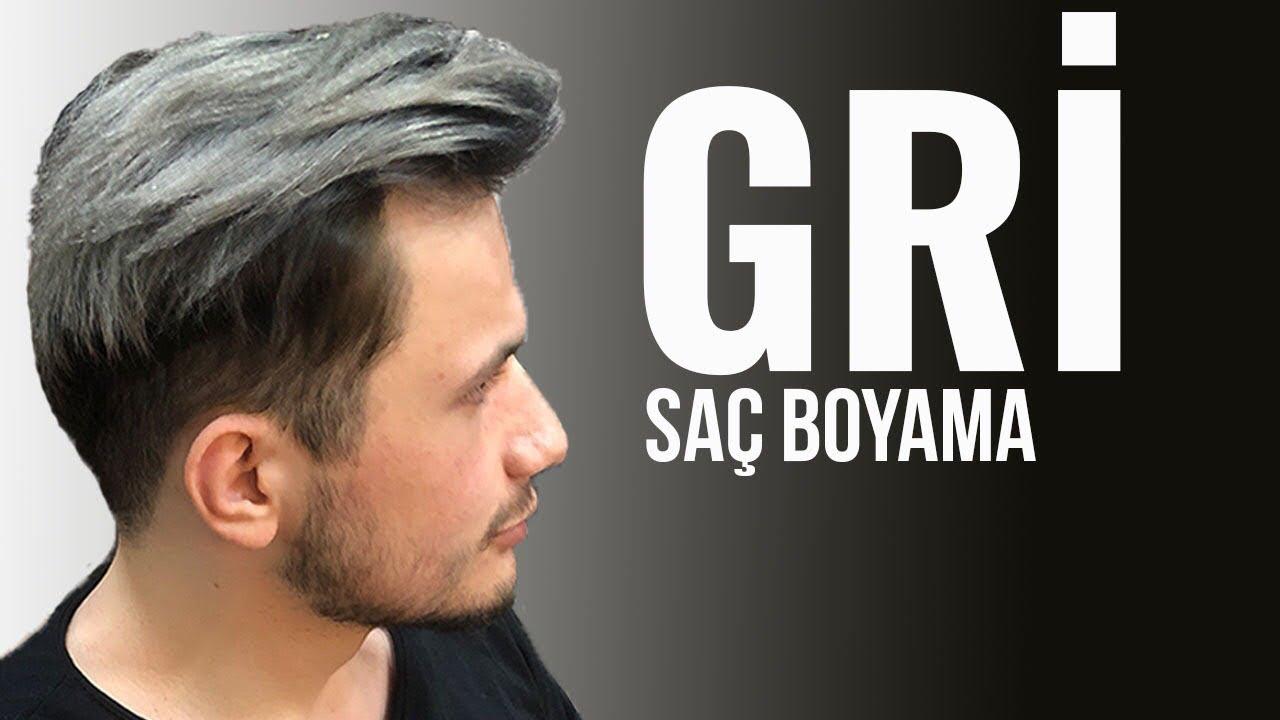 Gri Sac صبغ الشعر الرمادي Youtube