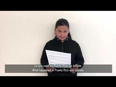 Yale Unicef + Fair Haven School: Remembering Hurricane Maria (2018)