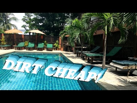 Luxe Hotel For $30?? Thailand Hotel Tour   Lexie Lombard