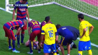 Lionel Messi vs Las Palmas Home HD 1080i 26092015 by MNcomps