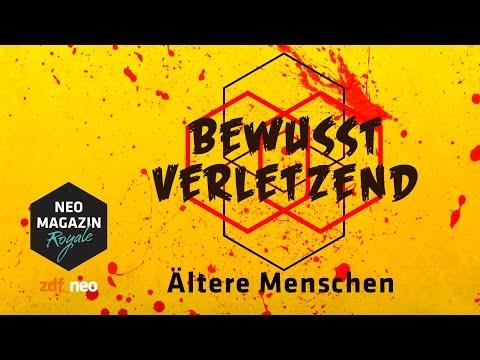 Bewusst verletzend: Alte Menschen  NEO MAGAZIN ROYALE mit Jan Böhmermann  ZDFneo