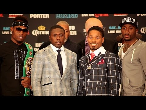 The Andre Berto vs. Shawn Porter FULL Final Press Conference Video