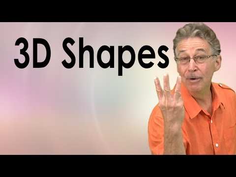 3D Shapes Song for Kids  Learn about 3D shapes  Jack Hartmann