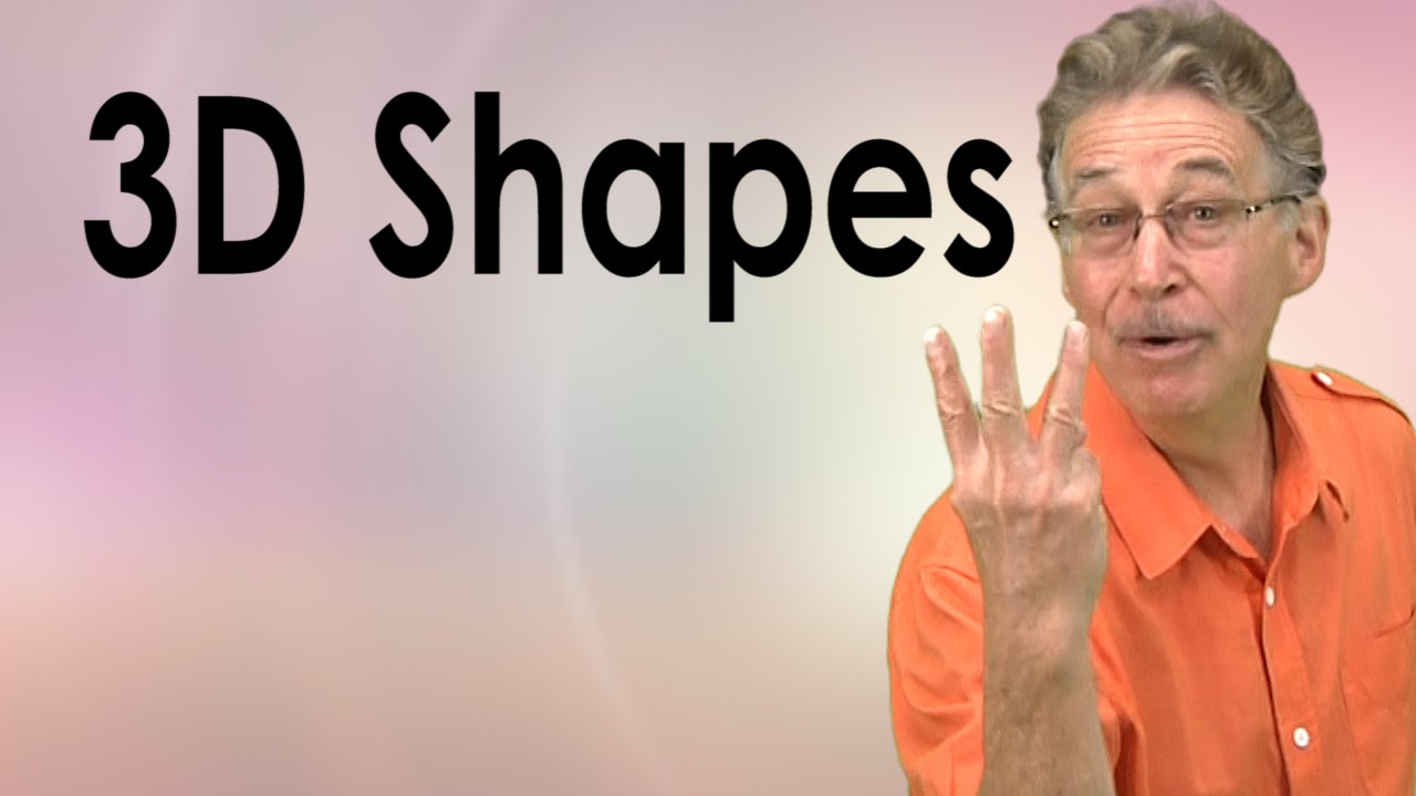 hight resolution of 3D Shapes Song for Kids   Learn about 3D shapes   Jack Hartmann - YouTube