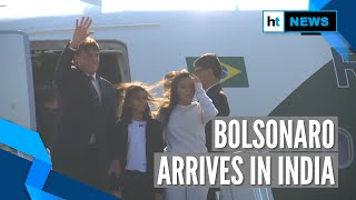 Brazilian President Jair Bolsonaro reaches India; to attend R-day celebration