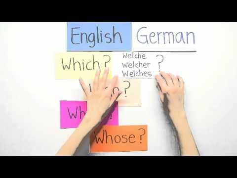 Frage Aufwerfen Englisch