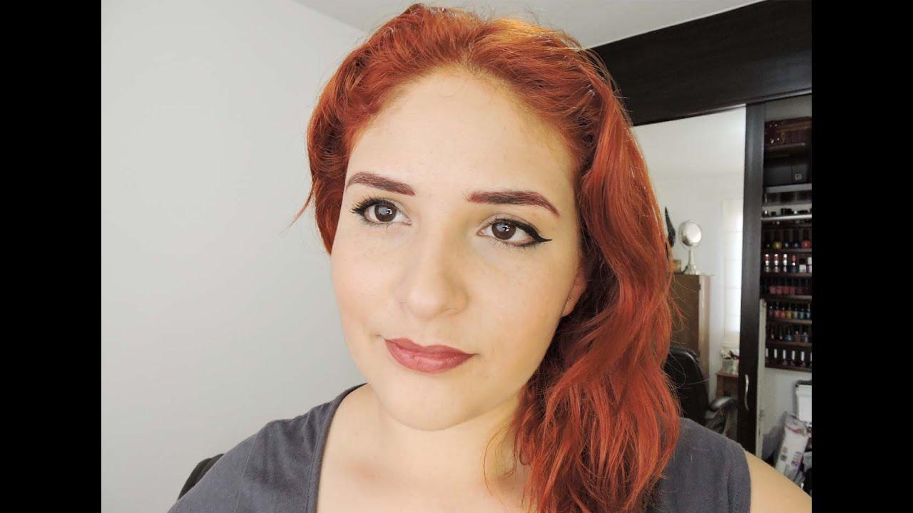 Pw >> Aclara y pintate el cabello cobrizo♥Copper hair - YouTube