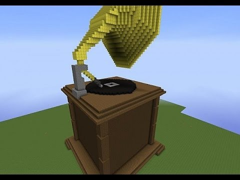Record Player In Minecraft Youtube