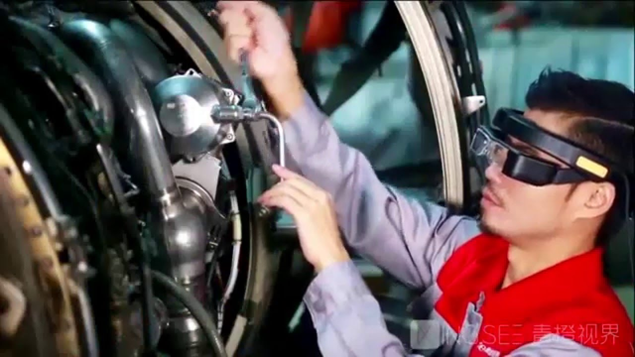 Intelligent Aircraft Maintenance-Kingsee AR Smartglasses ...