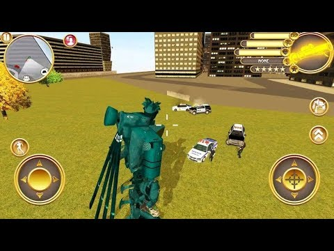 Helicopter Robot Transform War: Air Robot Games - Android Gameplay FullHD