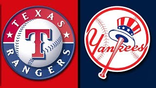 💥Game 115 STREAMING THE TEXAS RANGERS vs THE NEW YORK YANKEES LIVE REACTION AUGUST 10, 2018