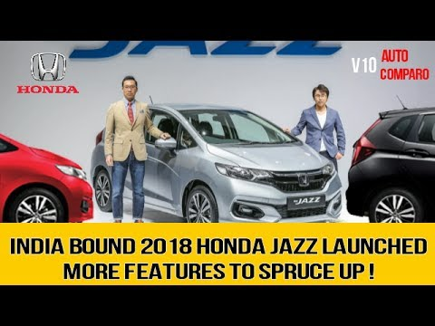 2018 honda jazz india. modren jazz india bound 2018 honda jazz facelift launched in malysia inside honda jazz india