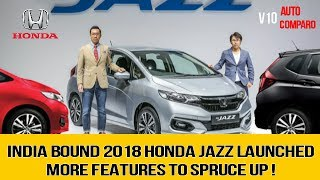 LAUNCHED ! INDIA BOUND 2018 HONDA JAZZ FACELIFT LAUNCHED IN MALYSIA