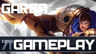 League of Legends - Gameplay - Garen Top! Completo em Português 1080p 60fps