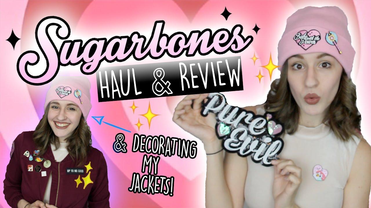 Sugarbones Haulreview & Decorating My Jacket!  Shut Up