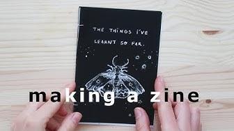 Making a zine