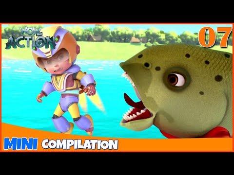 Vir The Robot Boy   Mini series   Compilation - 07   3D cartoon for kids   WowKidz Action