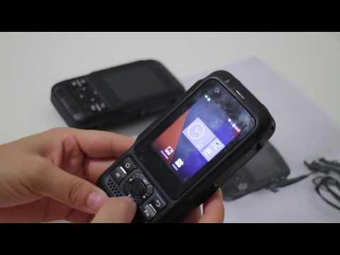 R887  Android PTT radio phone with rugged waterproof function & DMR Speaker