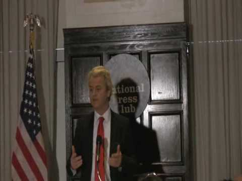 Geert Wilders National Press Club Part One
